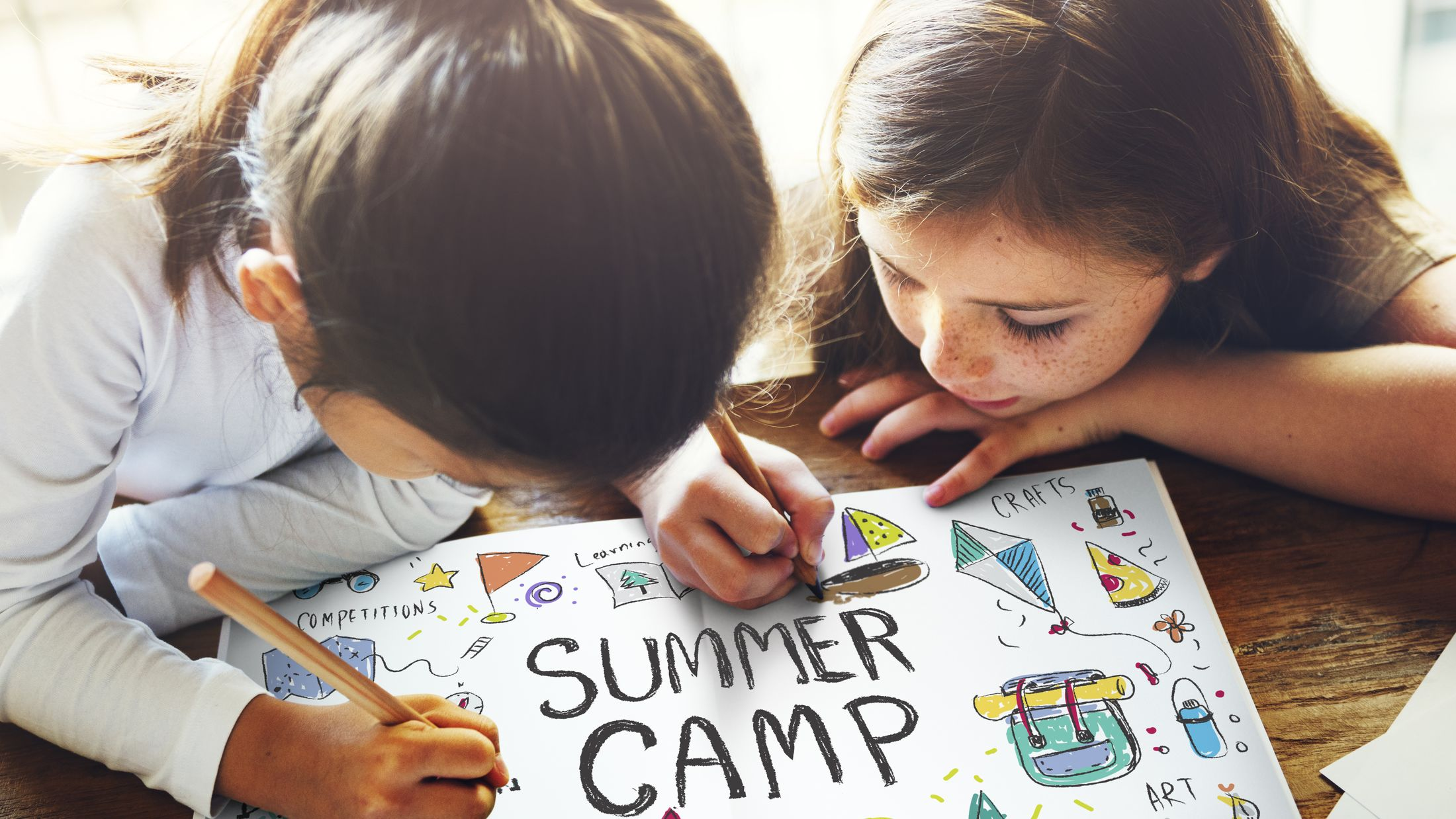 Summer Kids Camp Adventure Explore Concept; Shutterstock ID 446930167; PO: Project Italy - Facilities images; Job: Project Italy - Facilities images; Client: H&J/Citalia